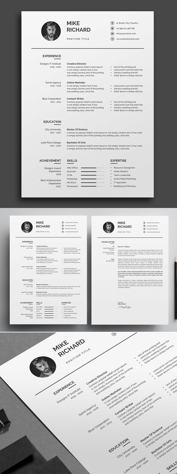 Simple Clean Resume / CV