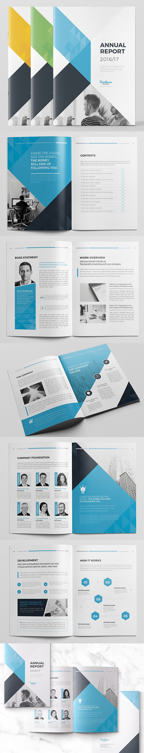Best Annual Report Template