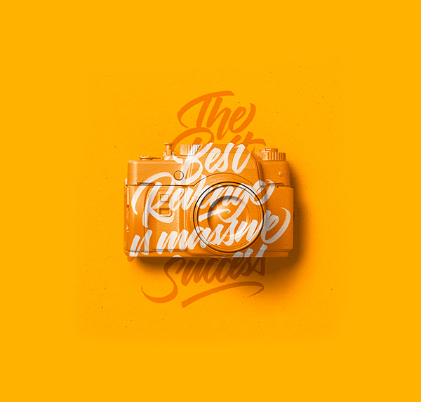 Remarkable Calligraphy and Lettering Designs for Inspiration - 13