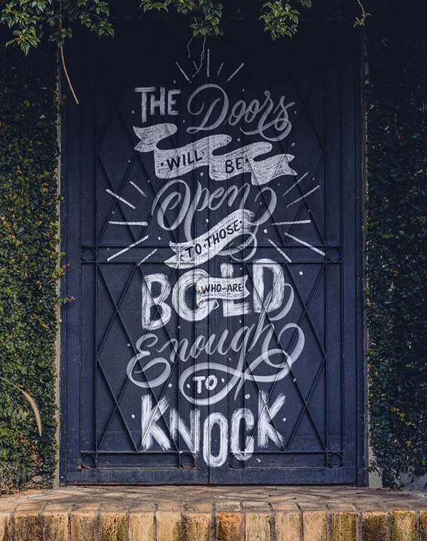 Remarkable Calligraphy and Lettering Designs for Inspiration - 17