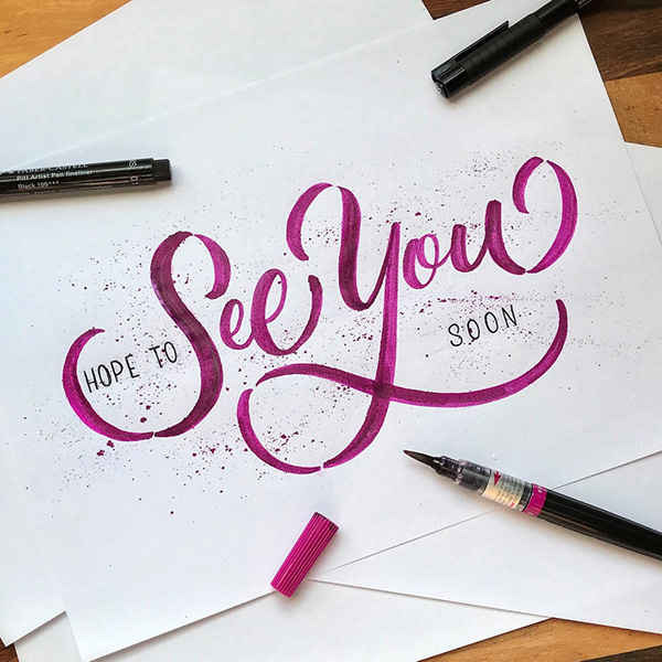 Remarkable Calligraphy and Lettering Designs for Inspiration - 7