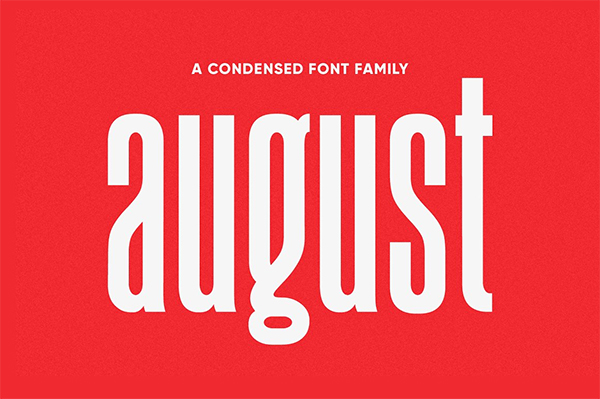 August Typeface