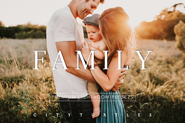 Natural Outdoor FAMILY LR Presets