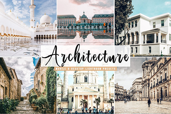 Architecture Lightroom Presets Pack
