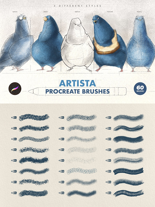 50 Best Procreate Brushes For 2021 - 3