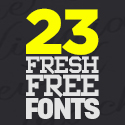 Post thumbnail of 23 Fresh Free Fonts For 2021