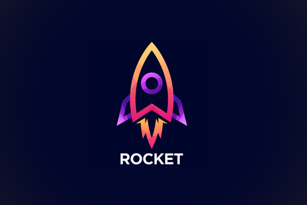 Rocket Line Color Logo