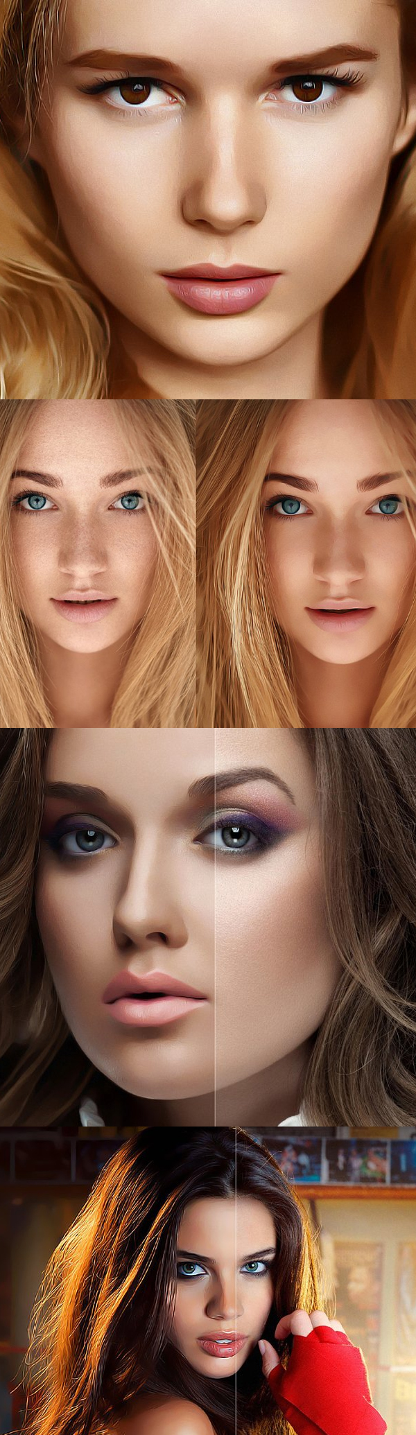 Retouch Painting Photoshop Action