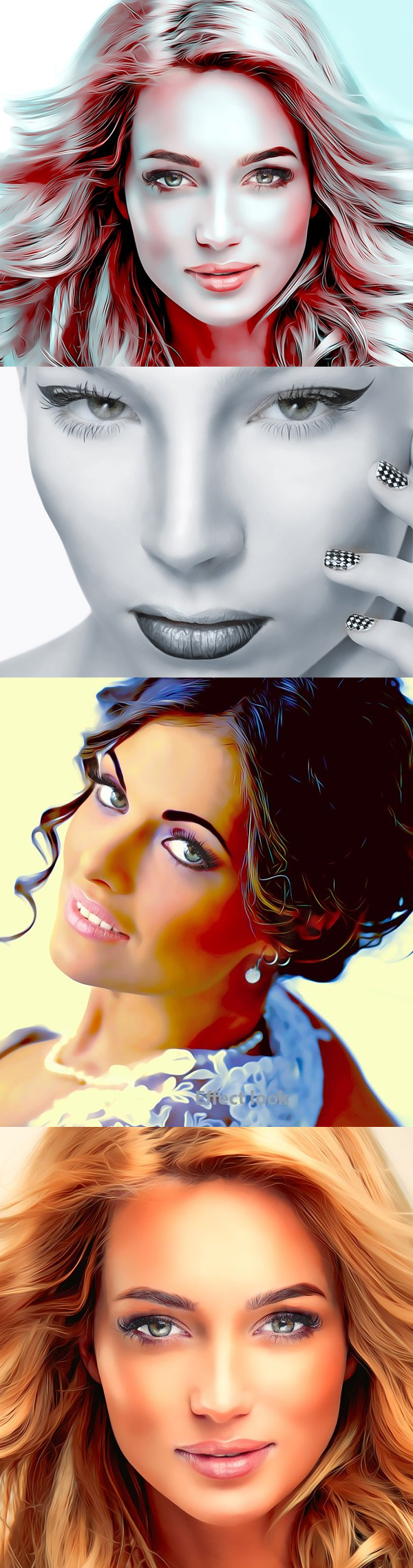 Glamour Retouching Photoshop Action