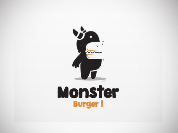 Monster burger Logo design by Garasigrafis
