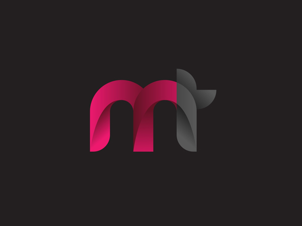 MT logo design concept by Diffart