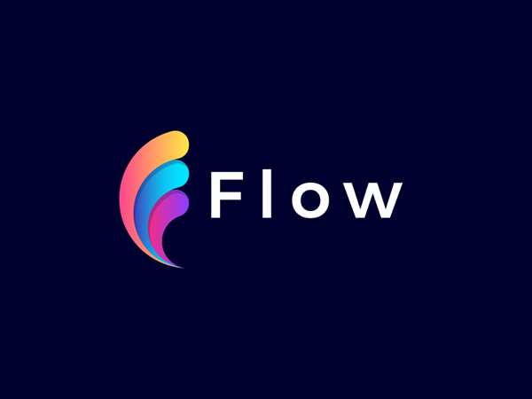 Flow - logo design by logo.sea