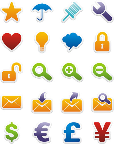 Stickers Icons - III