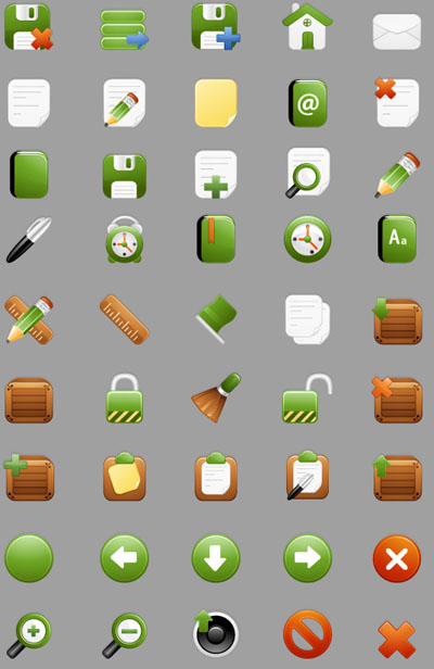 Milky Vector Icons