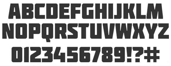 20 Beautiful Fonts for Big and Effective Headlines - Molot