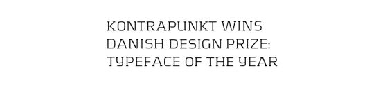 kontrapunkt - 70 Remarkable High Quality Free Fonts for Graphic Designers