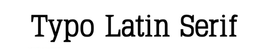 typo latin serif - 70 Remarkable High Quality Free Fonts for Graphic Designers