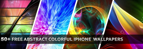 50+ Free Abstract Colorful iPhone Wallpapers