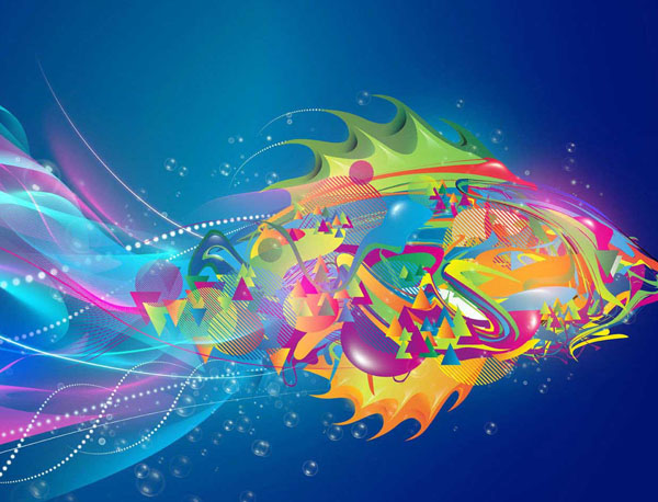 30 Free Abstract Colorful High-Res Wallpapers For Your Desktop Screen