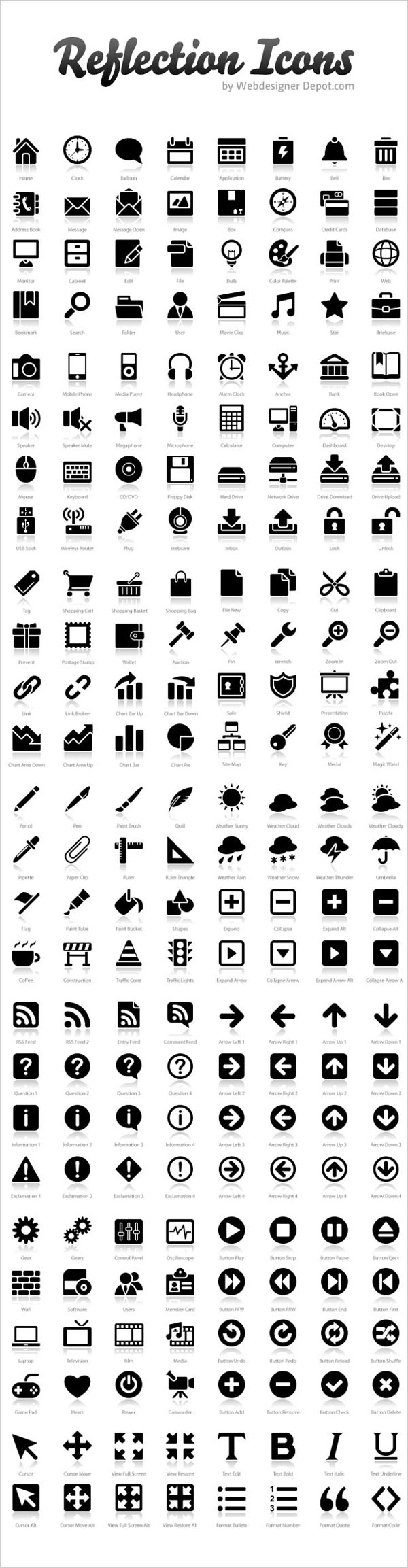 Download 200+ Free Exclusive Reflection Icons