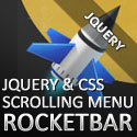 """Post Thumbnail of RocketBar jQuery And CSS3 """"Stay On Top"""" Navigation Menu - Free Download"""