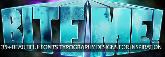 Post image of 35+ Beautiful Fonts Typography Designs For Inspiration