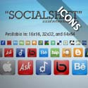 "Post thumbnail of ""SocialShift"" Social Networking Icons: Free Download 246 Social Icon Set"