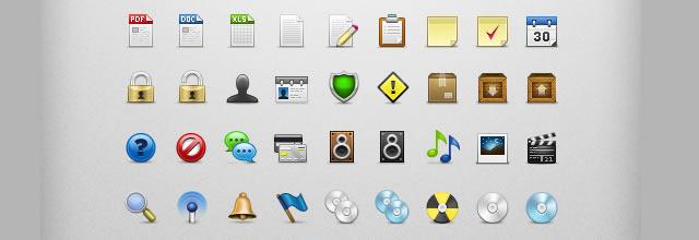 PixeloPhilia Icon Set