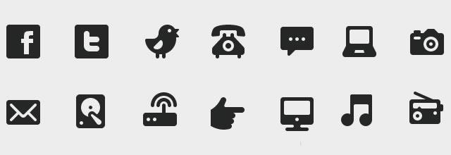 WPZOOM Developer Icon Set