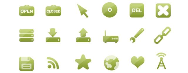 The Go Green! Icon Set