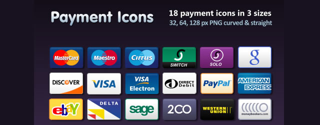 Payment Icons Set