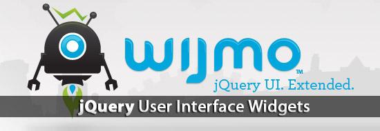 jQuery UI Elements Kit For Websites & Web App – Wijmo
