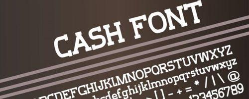 Cash Free Font