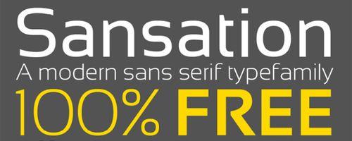 Sansation Free Font