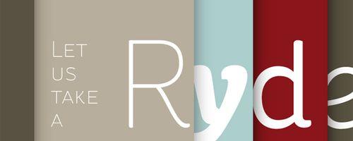 St Ryde Free Font