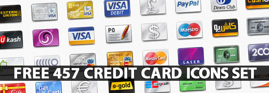 Credit Card Icons: Huge Collection of Free Vector Creadit Card Icons