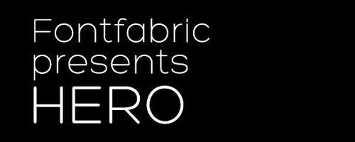 Fabric Free Font