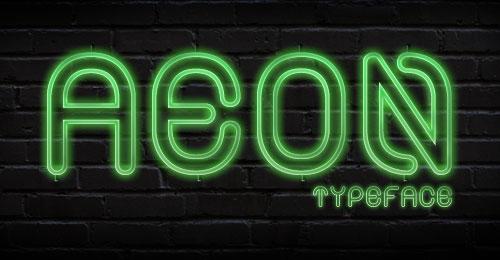 Alt Aeon Black & Medium Free Font