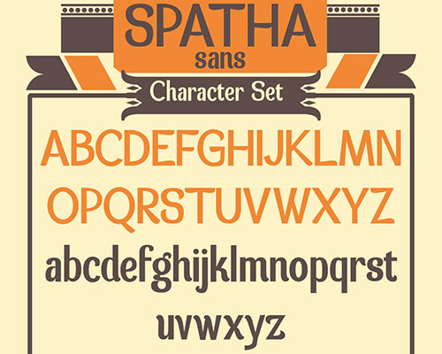 Spatha sans Free Font