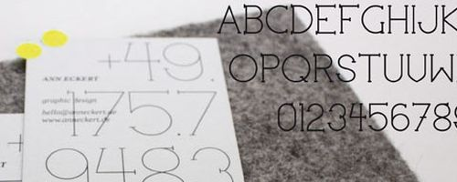 Slimbo Free Font