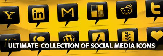 Post Thumbnail of Social Media Icons: Ultimate Huge Collection of Social Media Icons