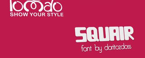 Squair Free Font