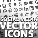 Post thumbnail of Free Vector Social Media Icons Set