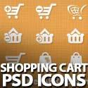 Post thumbnail of 40 Free Vector Shopping Cart PSD Icons
