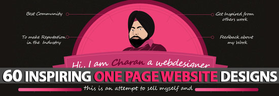 Post image of Single Page Websites: 60 Inspiring One Page Website Designs