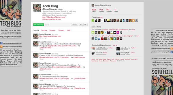 50 Best Twitter Background Designs for Inspiration