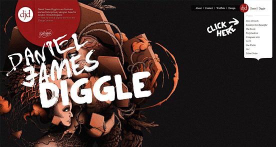60+ Creative  CSS Websites Showcase For Designers