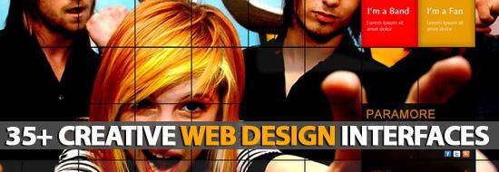 Web Interfaces: 35+ Creative Web Design Interfaces