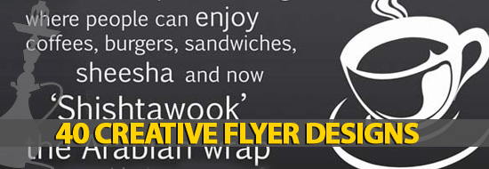 Post image of 40 Creative Flyer Designs