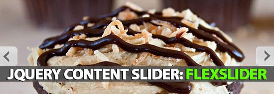 jQuery Content Slider: FlexSlider